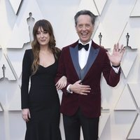Richard E. Grant and Olivia Grant at the Oscars 2019 red carpet