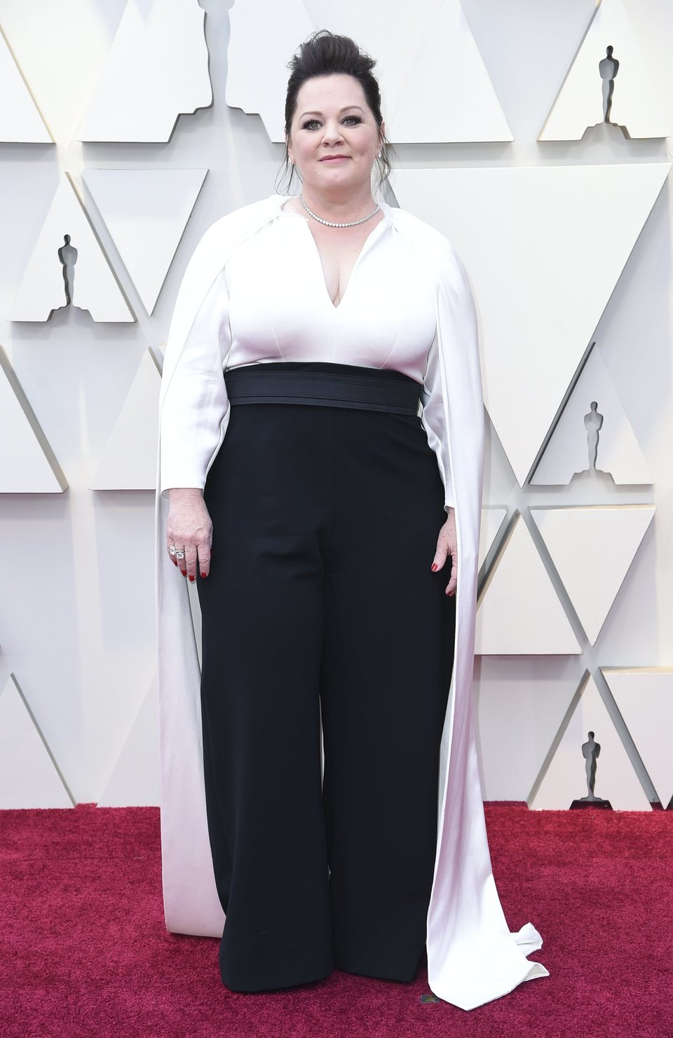 Melissa McCarthy on the red carpet at the Oscars 2019