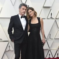 Pawel Pawlikowski and Malgosia Bela on the red carpet at the Oscars 2019