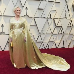 Glenn Close at the Oscars 2019 red carpet