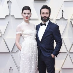 Marta Nieto and Rodrigo Sorogoyen at the Oscars 2019 red carpet