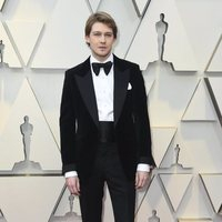 Joe Alwyn at the Oscars 2019 red carpet