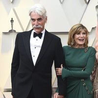 Sam Elliott and Katharine Ross on the red carpet at the Oscars 2019