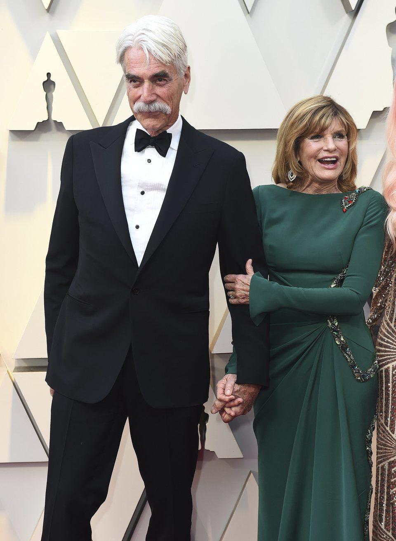Sam Elliott and Katharine Ross on the red carpet at the Oscars 2019