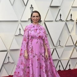 Maya Rudolph on the red carpet at the 2019 Oscars