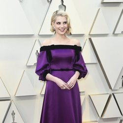 Lucy Boynton at the Oscars 2019 red carpet