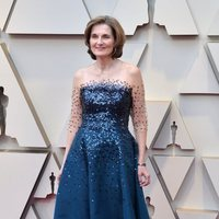 Deborah Davis on the red carpet at the Oscars 2019