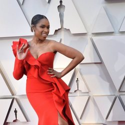 Jennifer Hudson on the red carpet at the Oscars 2019