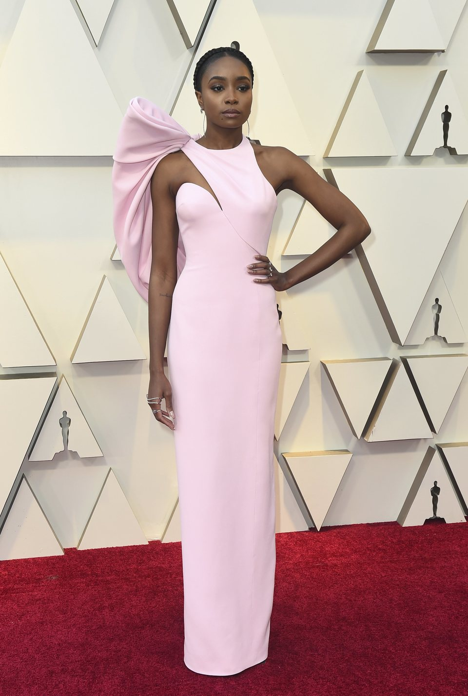 Kiki Layne on the red carpet at the Oscars 2019