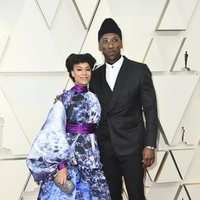 Mahershala Ali and Amatus Sami-Karim on the red carpet at the Oscars 2019