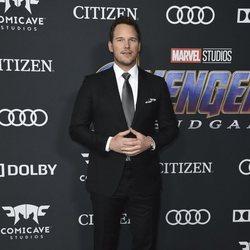 Chris Pratt in the red carpet of 'Avengers: Endgame'