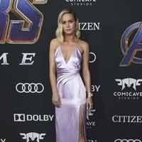 Brie Larson on the red carpet of 'Avengers: Endgame'