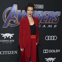 Evangeline Lilly on the red carpet of 'Avengers: Endgame'