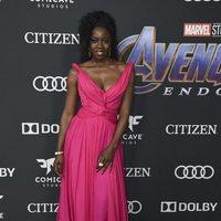 Danai Gurira on the red carpet of 'Avengers: Endgame'