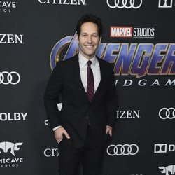 Paul Rudd on the red carpet of 'Avengers: Endgame'