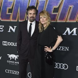 Mark Ruffalo and Sunrise Coigney on the red carpet of 'Avengers: Endgame'