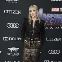 Pom Klementieff on the red carpet of 'Avengers: Endgame'