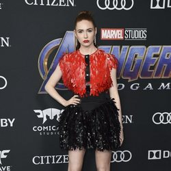 Karen Gillan on the red carpet of 'Avengers: Endgame'