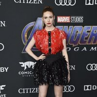 Karen Gillan on the red carpet of 'Avengers: Endgame'