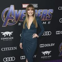 Elizabeth Olsen on the red carpet of 'Avengers: Endgame'