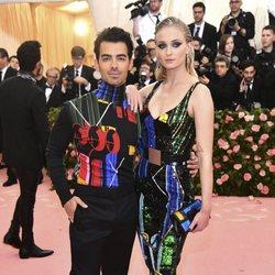 Sophie Turner and Joe Jonas at Met Gala 2019