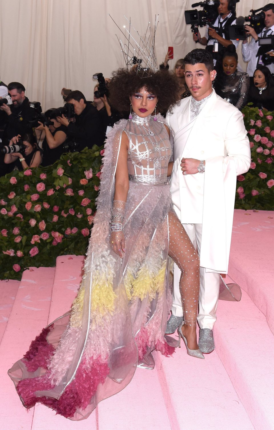 Priyanka Chopra y Nick Jonas at Met Gala 2019