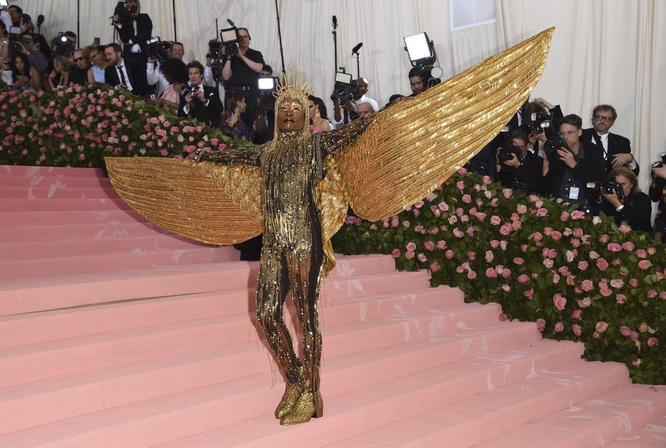 Billy Porter at Met Gala 2019
