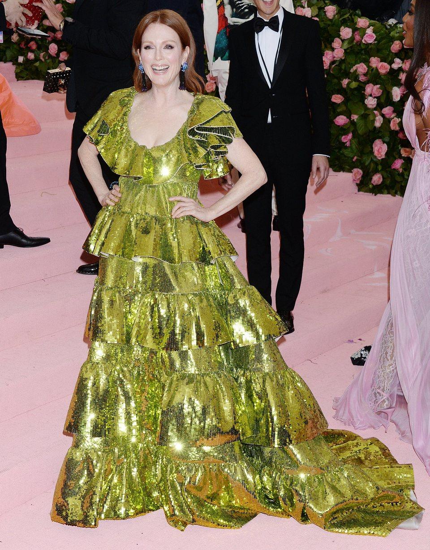 Julianne Moore at Met Gala 2019