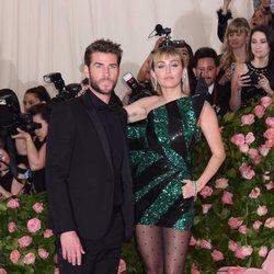Miley Cyrus and Liam Hemsworth at Met Gala 2019