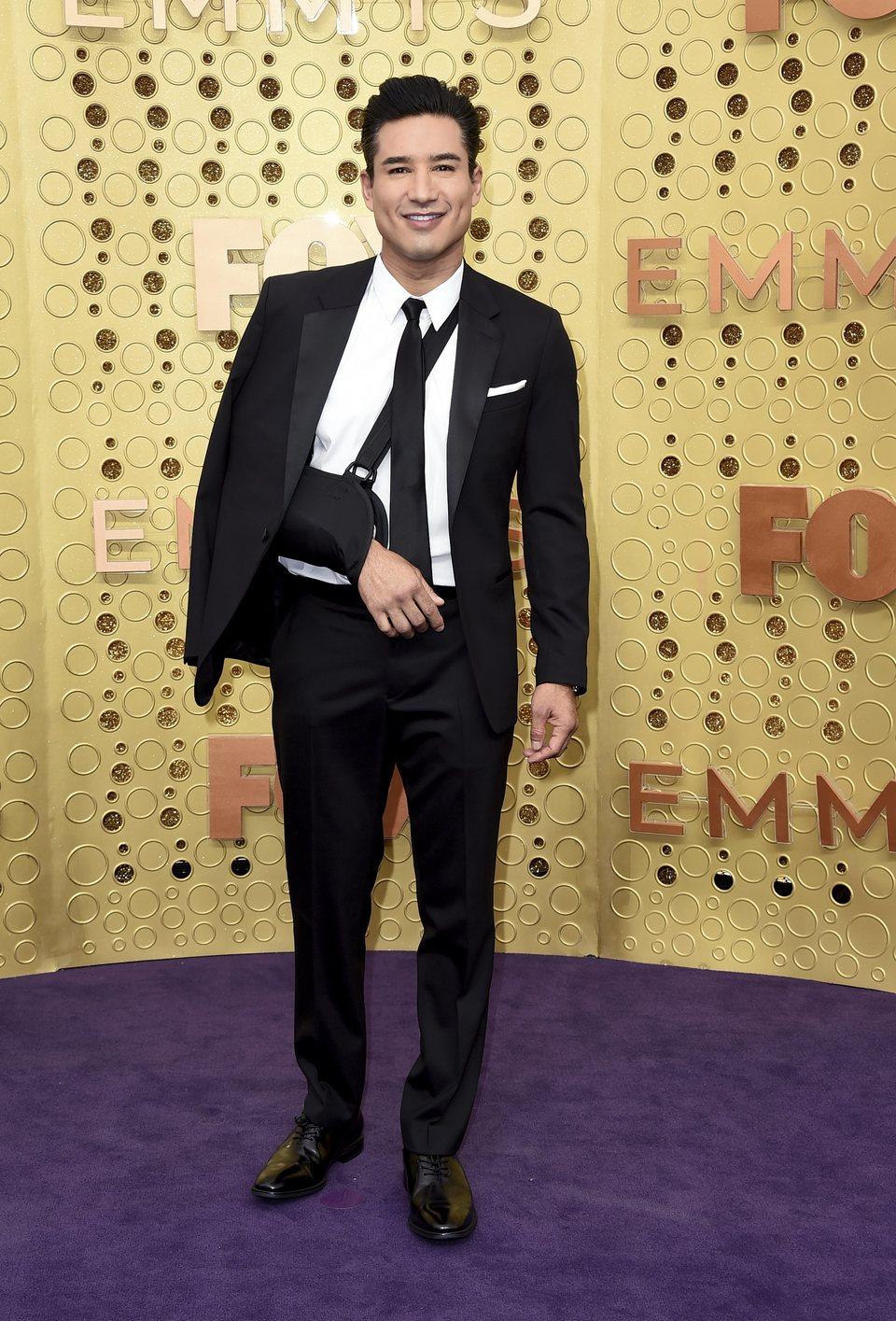 Mario Lopez arrives at the 71st Primetime Emmy Awards
