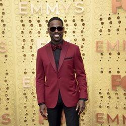 Sterling K. Brown arrives at the 71st Primetime Emmy Awards