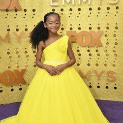 Faithe Herman arrives at the 71st Primetime Emmy Awards