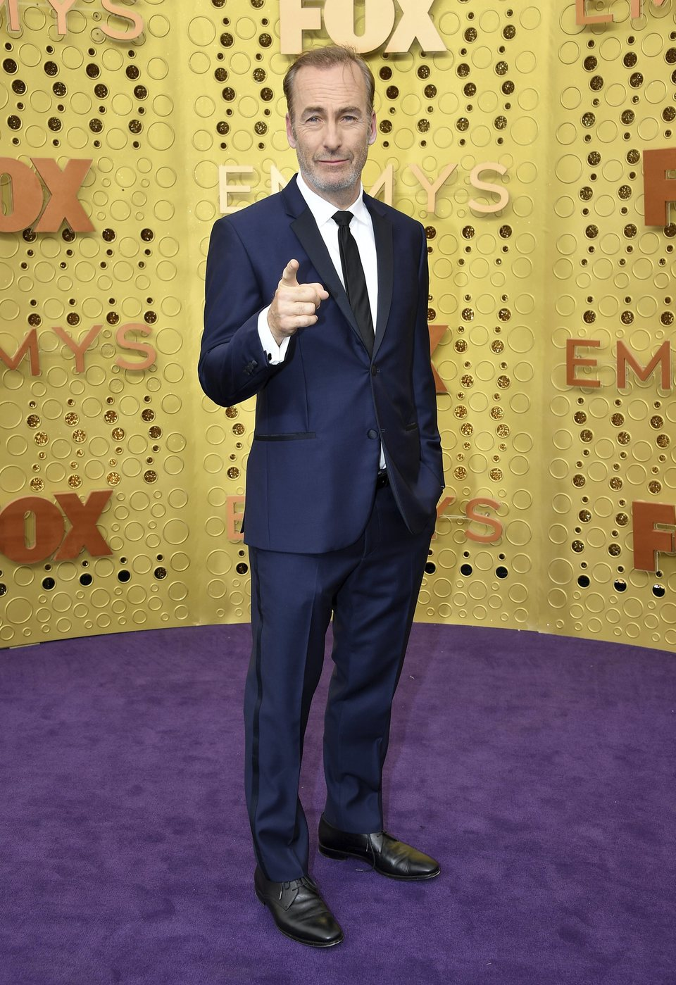 Bob Odenkirk arrives at the 71st Primetime Emmy Awards