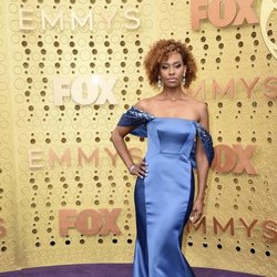 Ryan Michelle Bathe at the Emmy 2019 red carpet