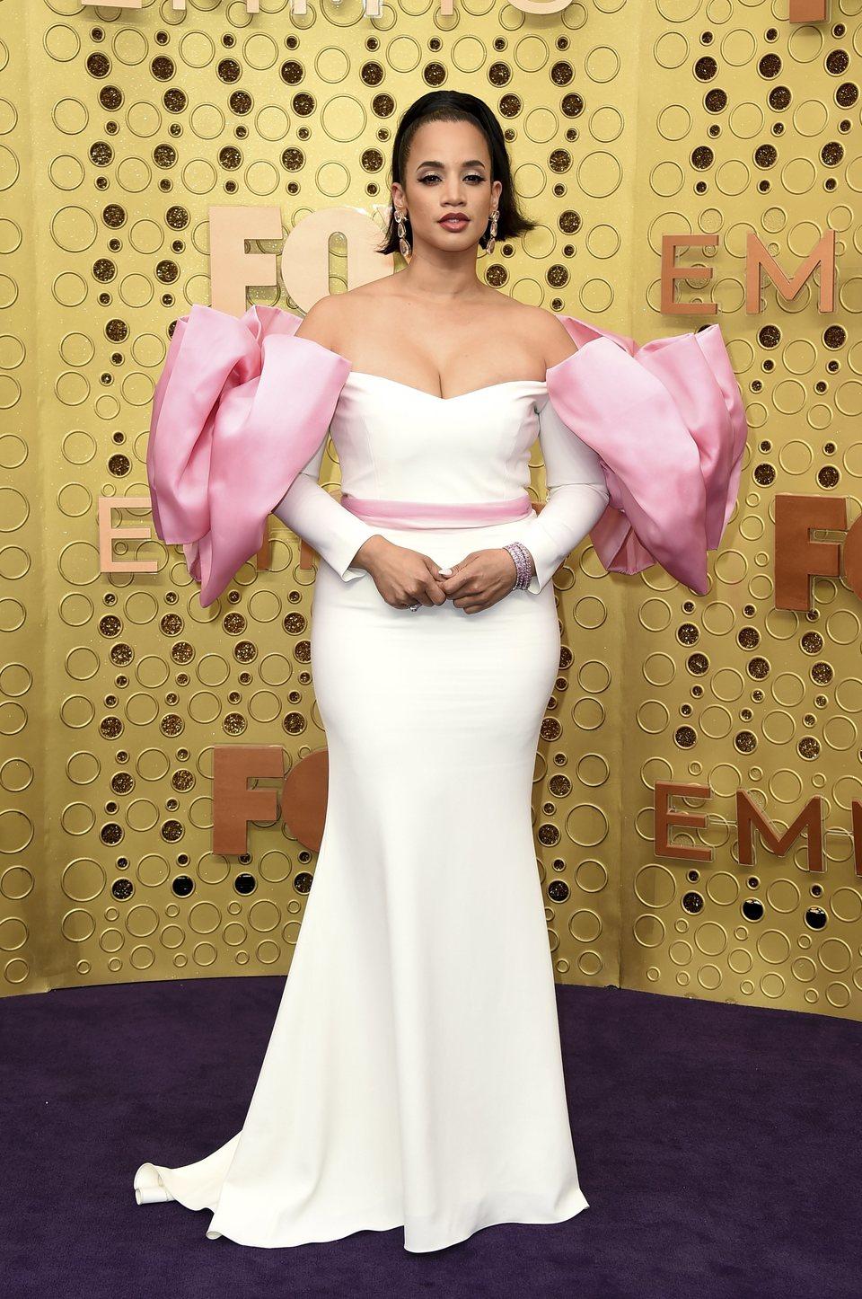 Dascha Polanco arrives at the 71st Primetime Emmy Awards
