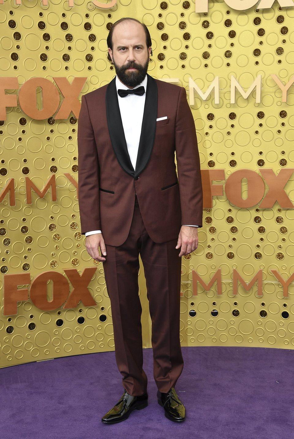 Brett Gelman at the Emmy 2019 red carpet