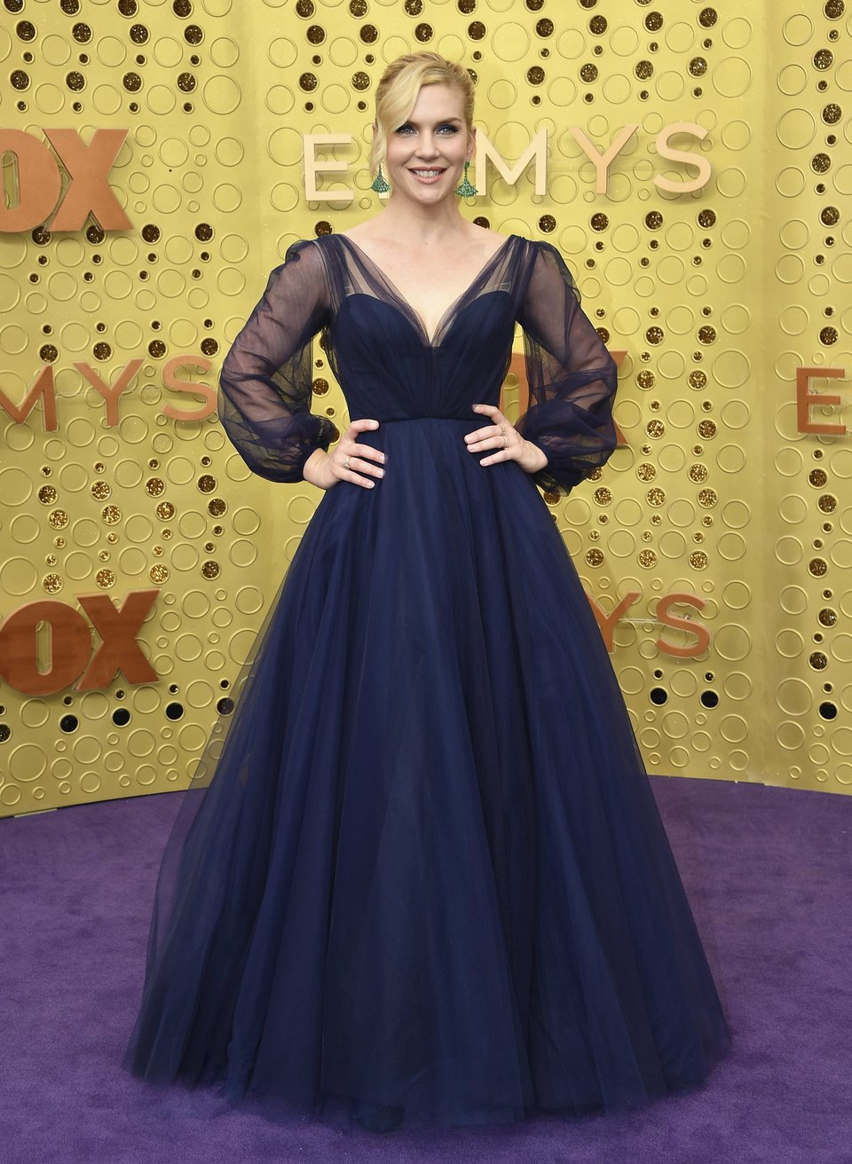 Rhea Seehorn arrives at the 71st Primetime Emmy Awards