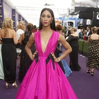 MJ Rodriguez arrives at the 71st Primetime Emmy Awards