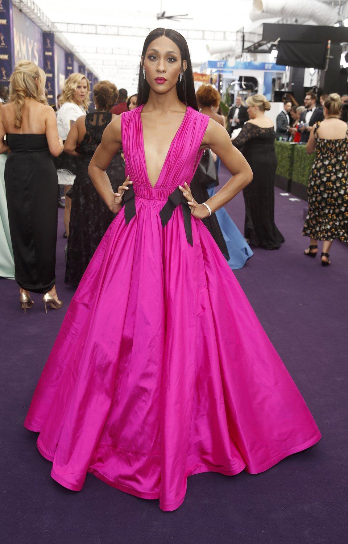 MJ Rodriguez arrives at the 71st Primetime Emmy Awards