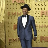 Giancarlo Esposito at the Emmy 2019 red carpet