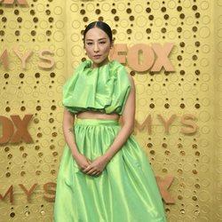 Greta Lee at the Emmy 2019 red carpet