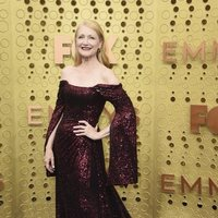 Patricia Clarkson arrives at the 71st Primetime Emmy Awards