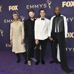 'Queer Eye' hosts at the Emmy 2019 red carpet