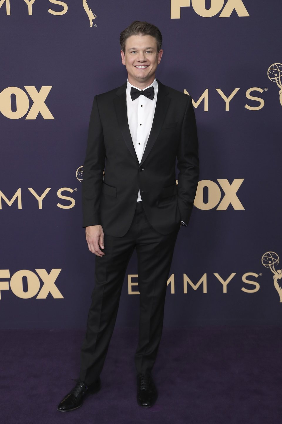 Brett Johnson at the Emmy 2019 red carpet