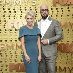Chris Sullivan and Rachel Sullivan arrive at the 71st Primetime Emmy Awards