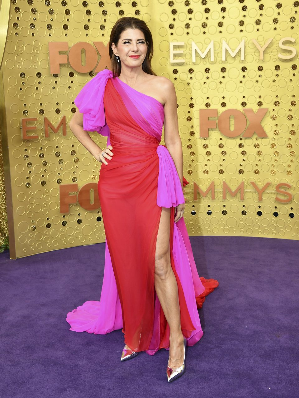 Marisa Tomei at the Emmy 2019 red carpet