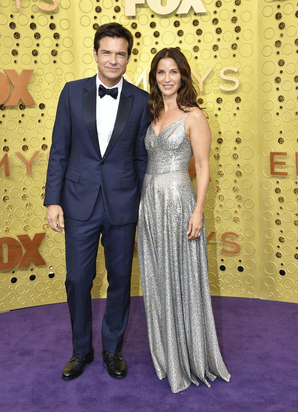 Jason Bateman at the Emmy 2019 red carpet