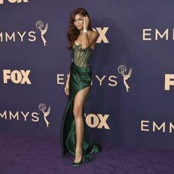 Zendaya at the Emmy 2019 red carpet