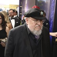 George R. R. Martin at the Emmy 2019 red carpet