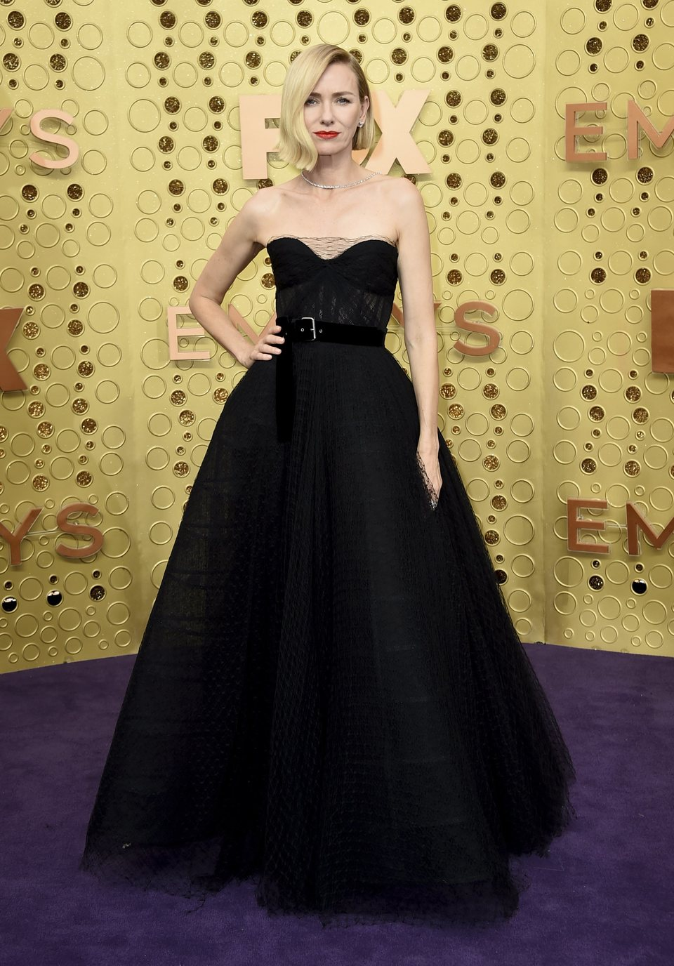 Naomi Watts at the Emmy 2019 red carpet